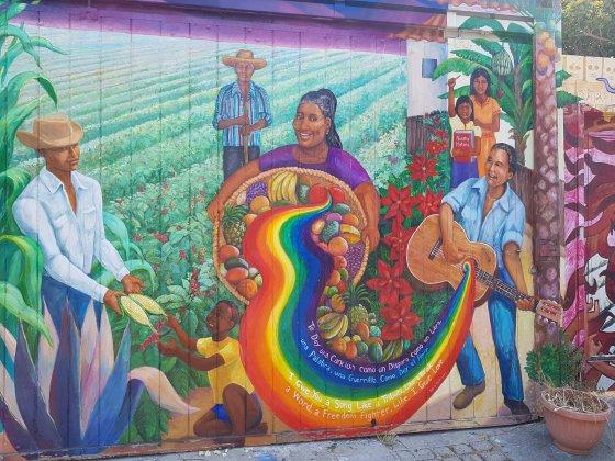 Balmy Alley - Mission District - San Francisco