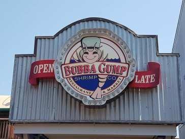 Bubba Gump - Pier 39 - San Francisco