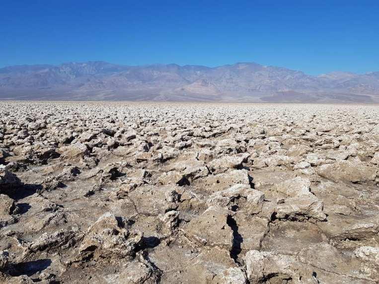 Devil's Golf Course- Death Valley (la Vallée de la mort)