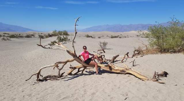 Mesquite Dunes - Death Valley (la Vallée de la mort)