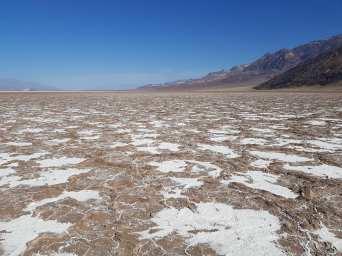 Marais salants à Death Valley