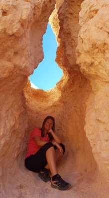 A l'intérieur de Bryce Canyon
