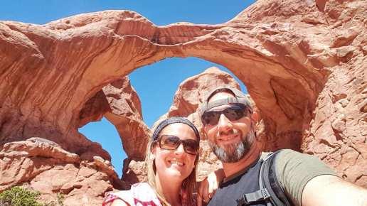 Double Arche - Arches national park