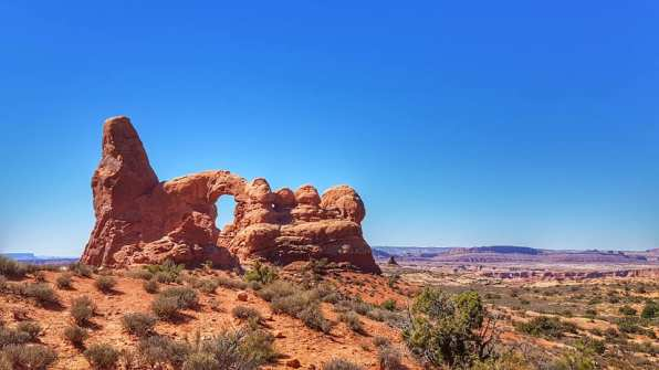the windows trail - Arches national park