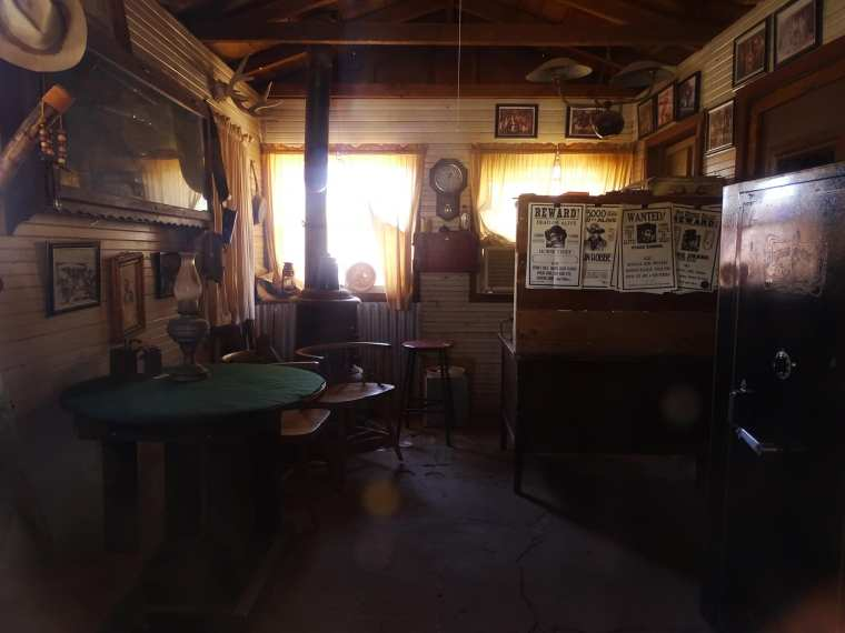 Calico ghost town - Sheriff's office interior