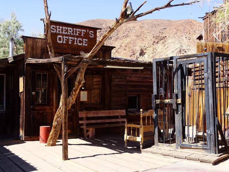 Calico ghost town - Sheriff's office