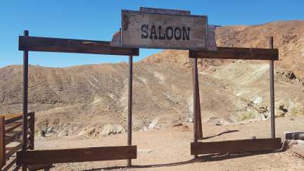 Calico ghost town - saloon