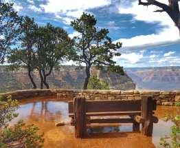 Grand Canyon après la pluie