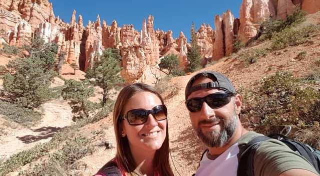 Les Amoureux du Monde à Bryce Canyon