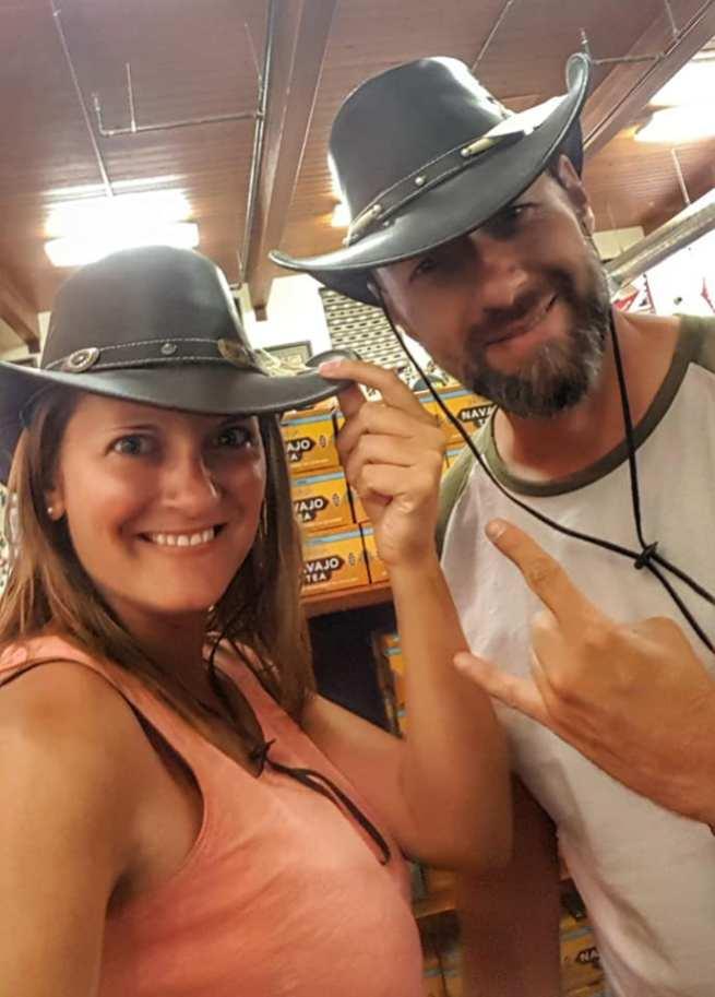 Les cowboy et cowgirl de Monument Valley