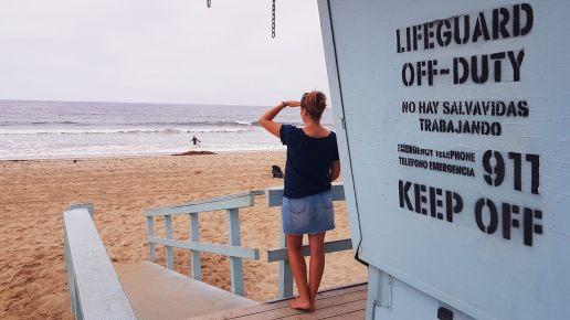 Se prendre pour un sauveteur sur la plage de Santa Monica