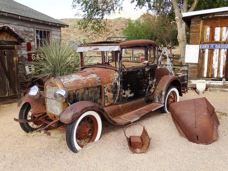 vieille voiture - Seligman