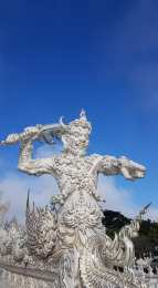 Statue du White Temple - Chiang rai