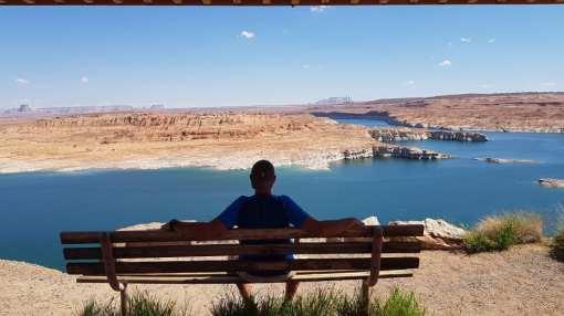 Vue sur le lac Powell