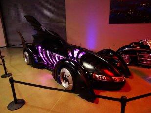 voiture de Batman - Warner Bros studios