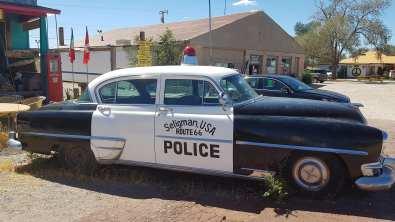 voiture de police à Seligman