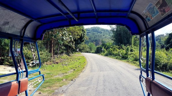 Tuk-tuk au Laos