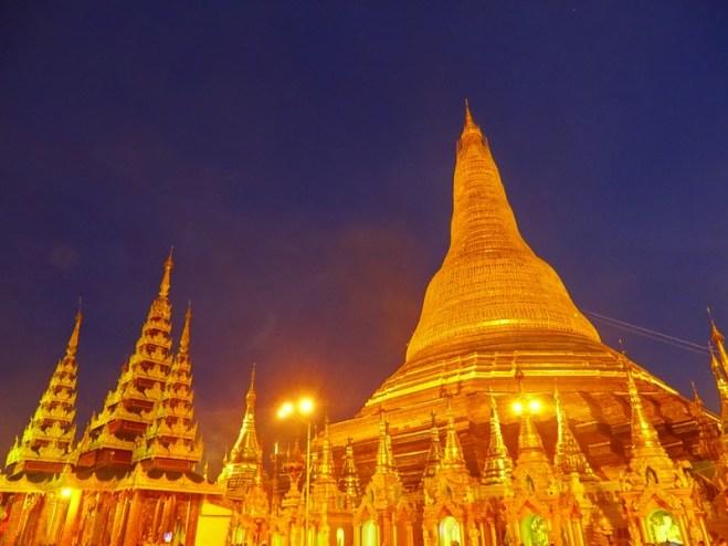 Pagode Shwedagon à Yangon - Birmanie