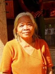 portrait d'une femme laotienne