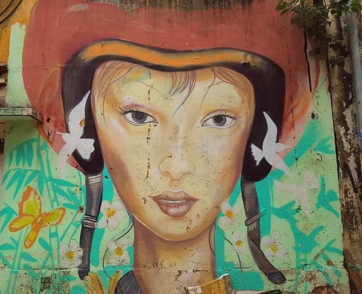 street art dans Ho Chi Minh - Vietnam