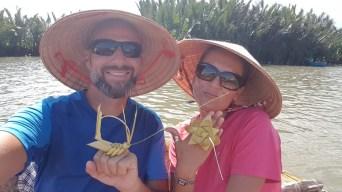 Balade en Basket boat - water coconut village - Hoi An