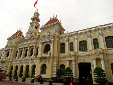 Hôtel de ville de Ho Chi Minh - Vietnam
