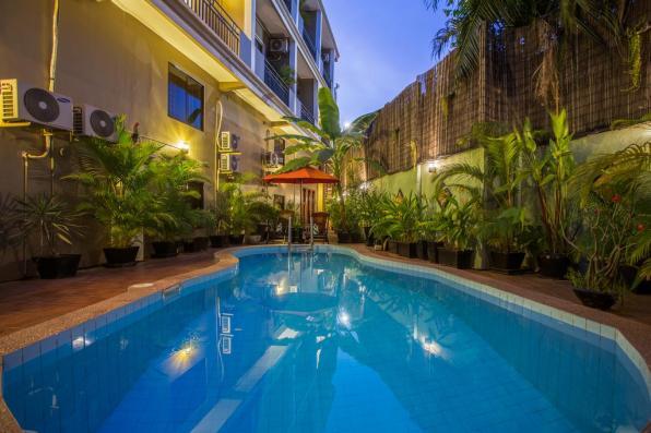 Piscine de La Villa du Bonheur - Siem Reap