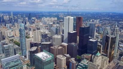 Vue depuis la CN Tower de Toronto - Canada
