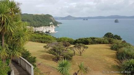 Sur le chemin pour arriver à Cathedral Cove Nouvelle-Zélande