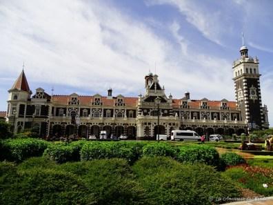 gare de Dunedin Nouvelle-Zélande