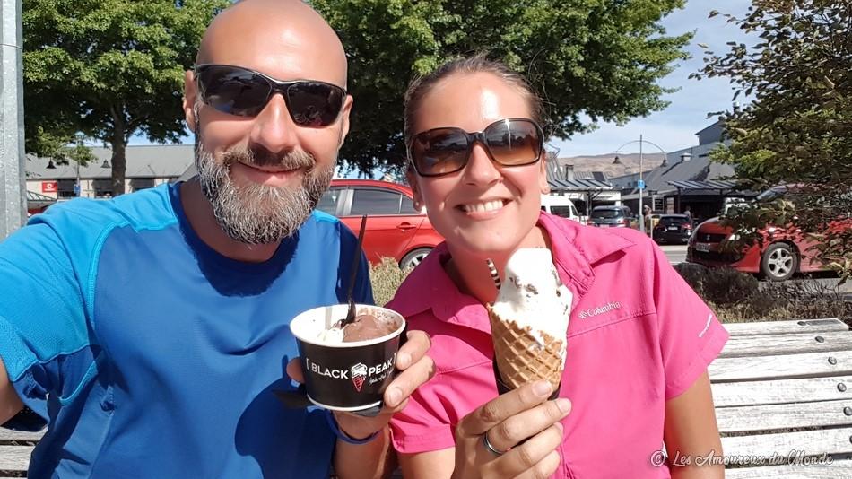 glaces hokey pokey Nouvelle-Zélande