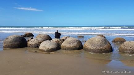 moreaki boulders Nouvelle-Zélande
