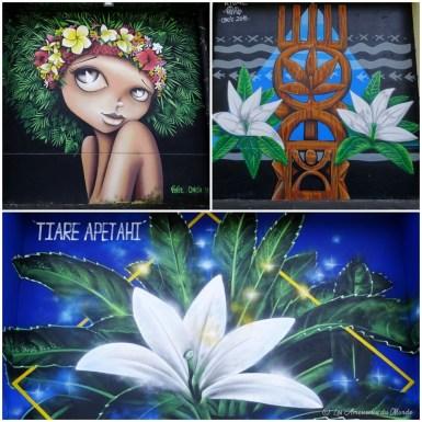 street art Raiatea - Polynésie française