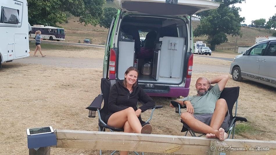 site de camping gratuit - Nouvelle-Zélande