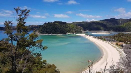 Parc Abel Tasman en Nouvelle-Zélande