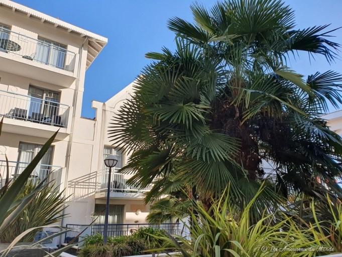 Residhome Arcachon Plazza - vue depuis la terrasse de notre chambre