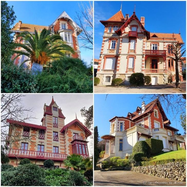 Villas dans le quartier de la ville d'Hiver - Arcachon
