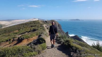 sentier du Cap Reinga en Nouvelle-Zélande