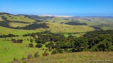 Paysage du Cap Reinga en Nouvelle-Zélande