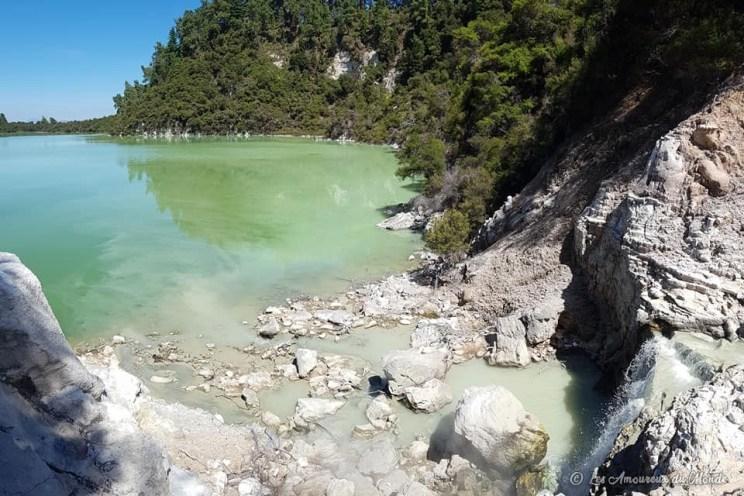 Parc Wai-O-Tapu à Rotorua en Nouvelle-Zélande