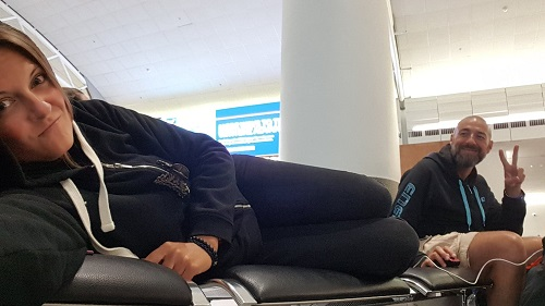 dormir à l'aéroport d'Auckland