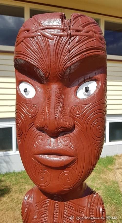 village maori Ohinemutu - Rotorua - Nouvelle-Zélande
