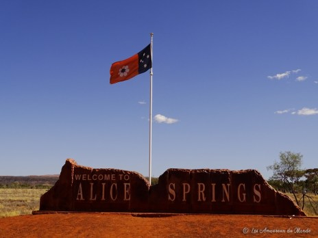 Alice Springs - Centre Rouge - Australie