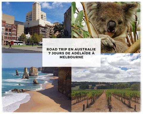 Road trip en Australie de Adelaide à Melbourne
