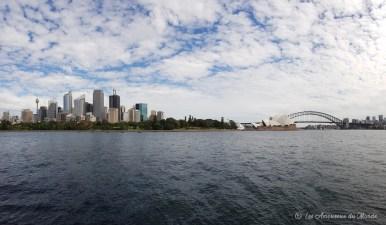 Building, pont et opéra à Sydney - Australie
