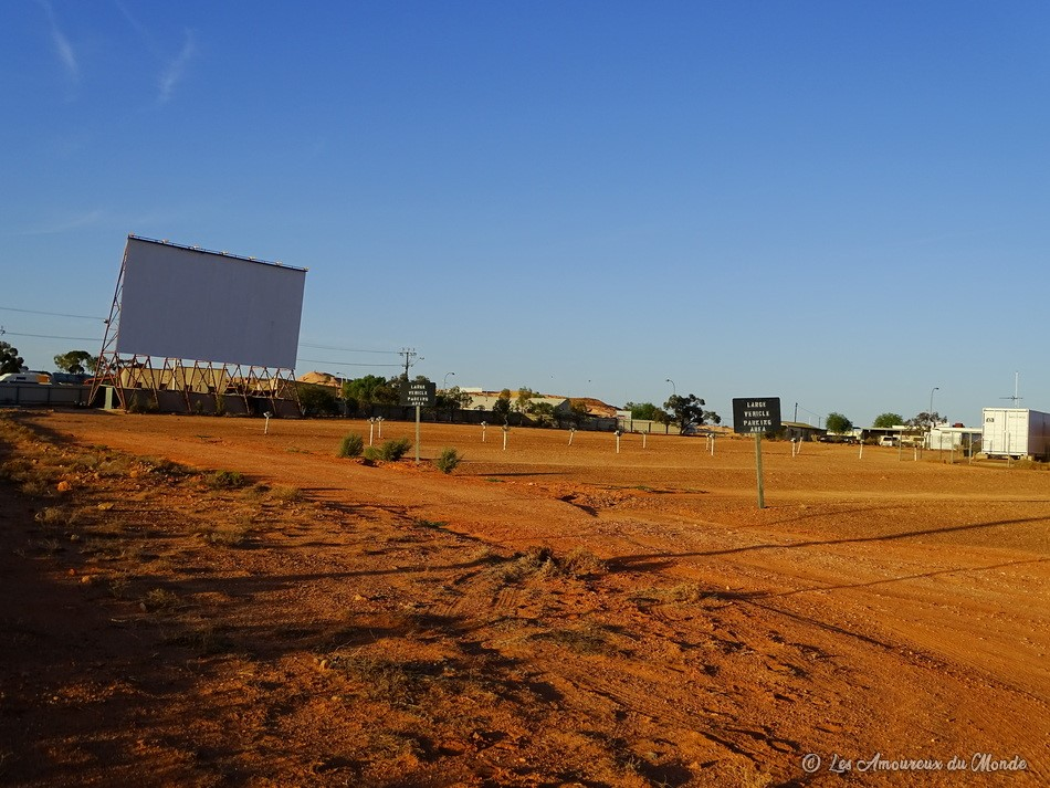 cinéma en plein air -Coober Pedy