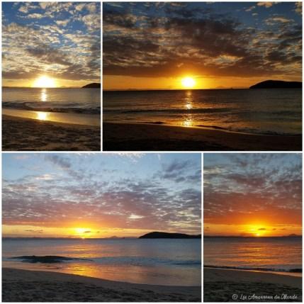 Couchers de soleil sur Great Keppel Island - Australie