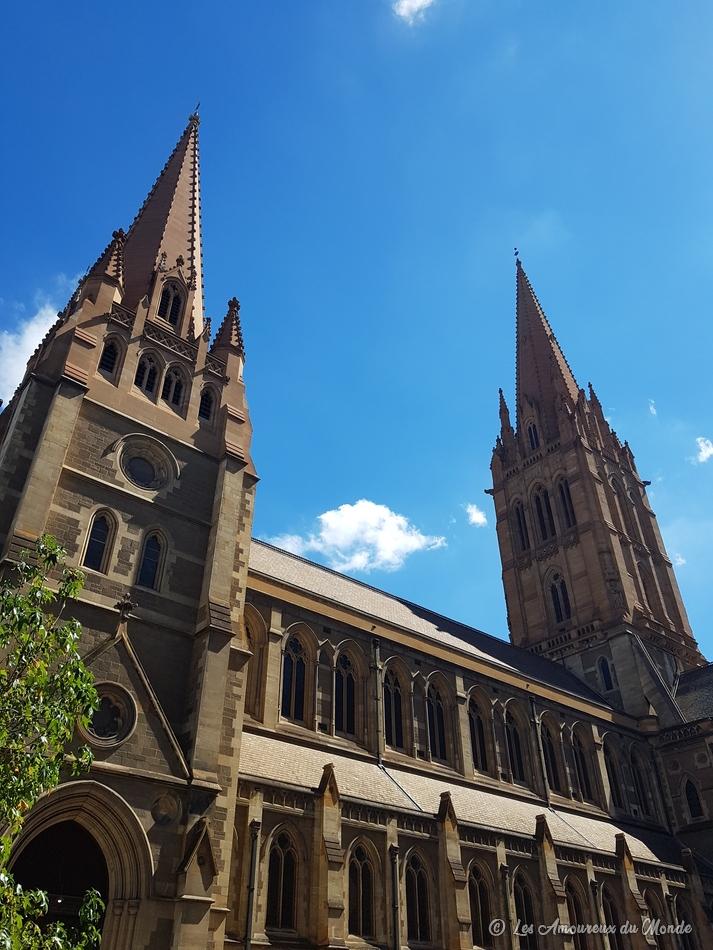Cathédrale St Paul à Melbourne