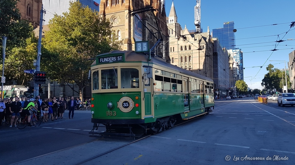 Le City Circle Tram à Melbourne
