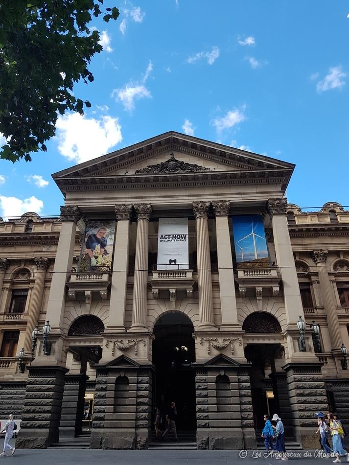 Le Town Hall à Melbourne